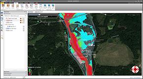 Create 2D flood hazard maps, including:Flood Arrival Time,Depth x Velocity,Depth x Velocity²,Flood Duration,Flood Recession Time,,% Time Inundated,Velocity.